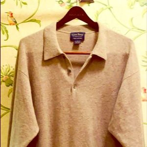 Club Room Cashmere sweater.